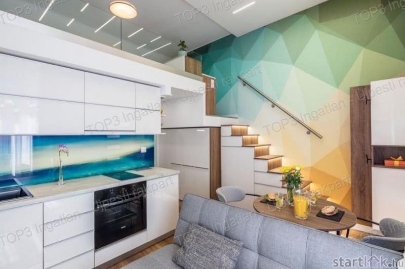 Belvárosi luxus lakás 30m2 alatt