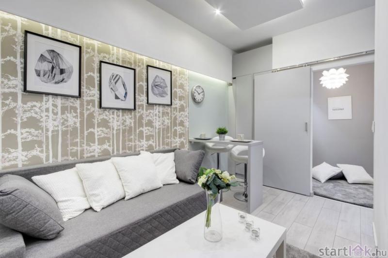Felújított kis lakás 30 m2 alatt