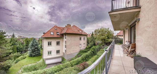Körteraszos társasházi lakás Madárhegyen