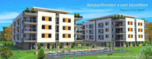 Balatonfüredi lakóparki lakások
