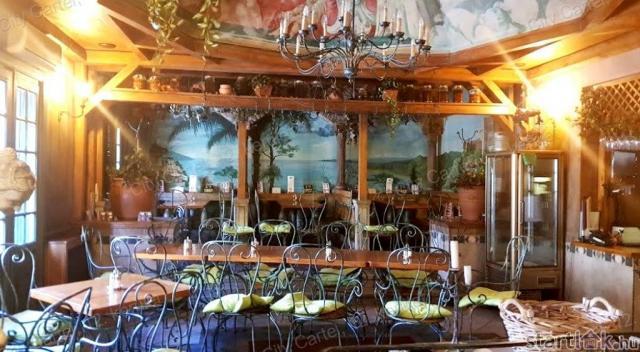 Működő budai étterem